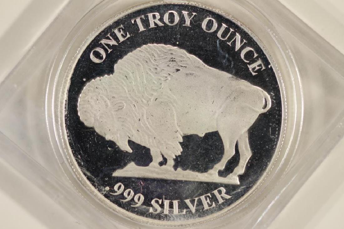 1 TROY OZ .999 FINE SILVER PROOF ROUND