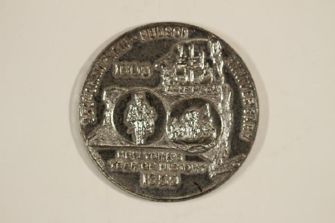 STERLING SILVER ROUND 1959-350TH CHAMPLAIN-HUDSON