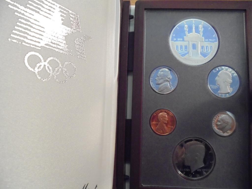 1984 US PRESTIGE PROOF SET OLYMPICS ORIGINAL US MINT
