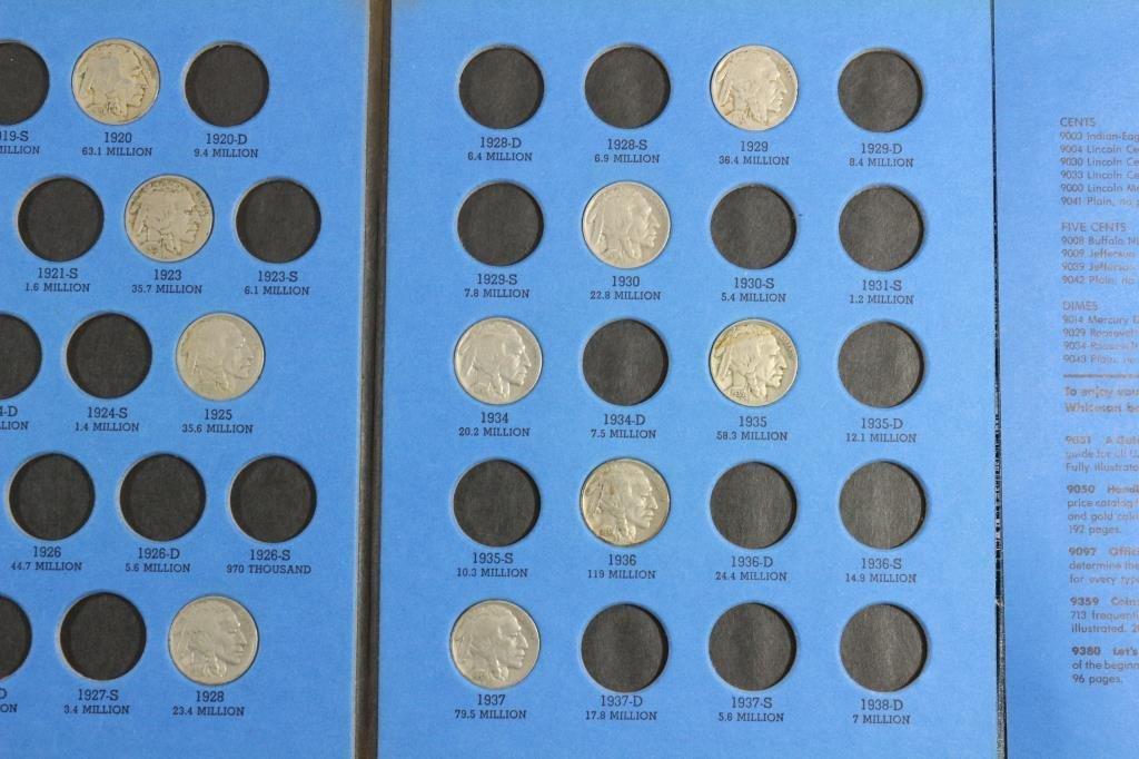 PARTIAL 1913-1938 BUFFALO NICKEL SET 15 COINS - 4