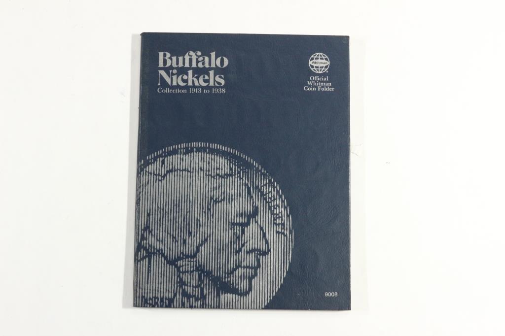 PARTIAL 1913-1938 BUFFALO NICKEL SET 15 COINS - 5