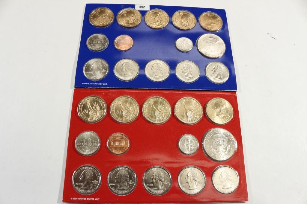 2008 US MINT SET (UNC) P/D