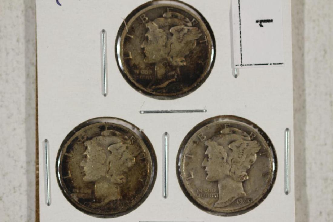 1940 P/D/S MERCURY DIMES