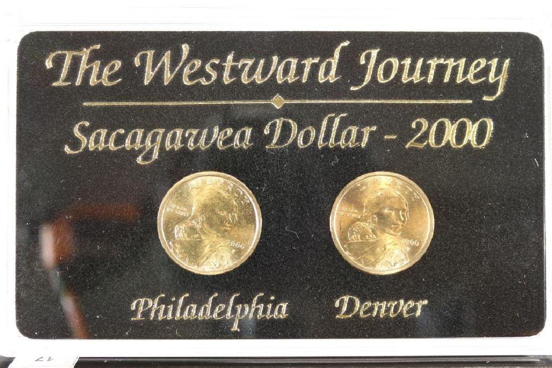2000-P & D WESTWARD JOURNEY SACAGAWEA DOLLARS