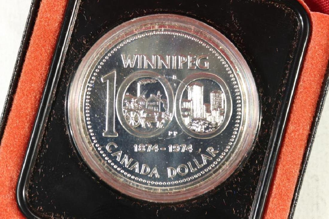 1974 CANADA WINNIPEG SILVER DOLLAR PROOF