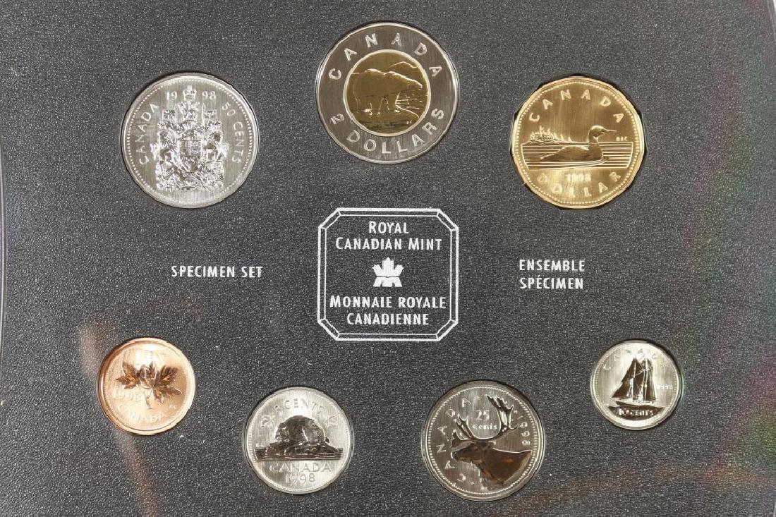 1998 CANADA SPECIMEN SET