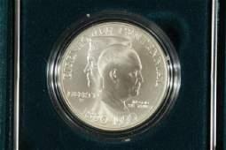 1990-W EISENHOWER CENTENNIAL UNC SILVER DOLLAR