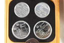 1976 CANADA SILVER PROOF OLYMPIC COIN SET