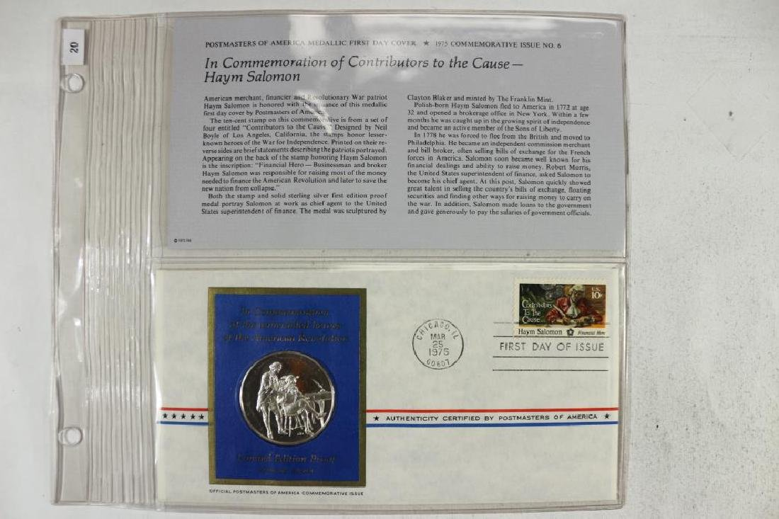 STERLING SILVER LIMITED EDITION PROOF MEDAL