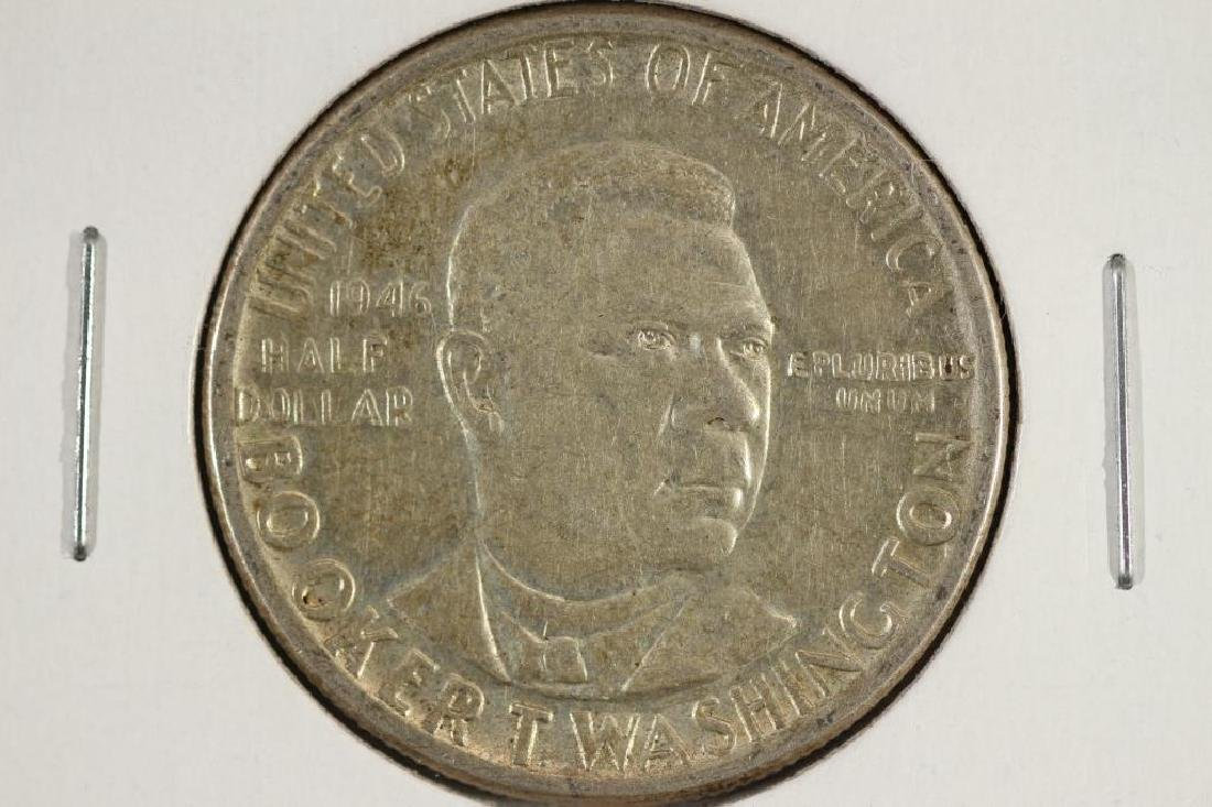1946 BOOKER T. WASHINGTON COMMEMORATIVE HALF $ UNC