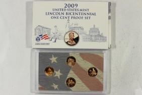 2009 US MINT LINCOLN BICENTENNIAL 1 CENT PF SET