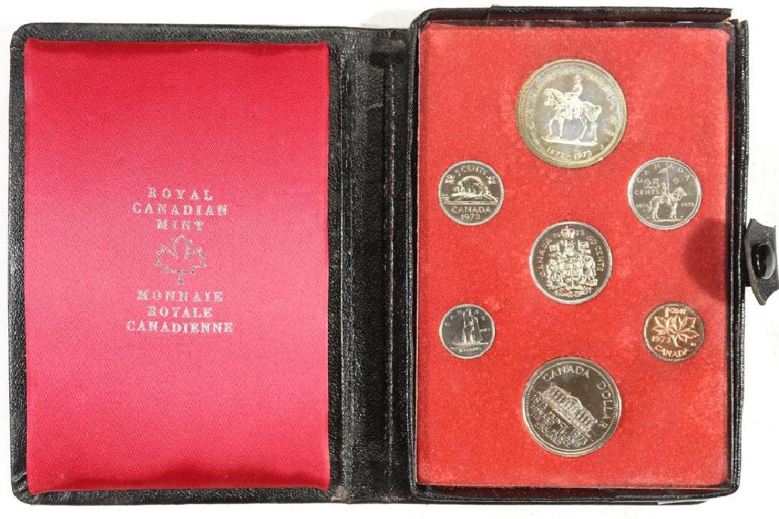 1973 CANADA DOUBLE DOLLAR PROOF SET RCMP