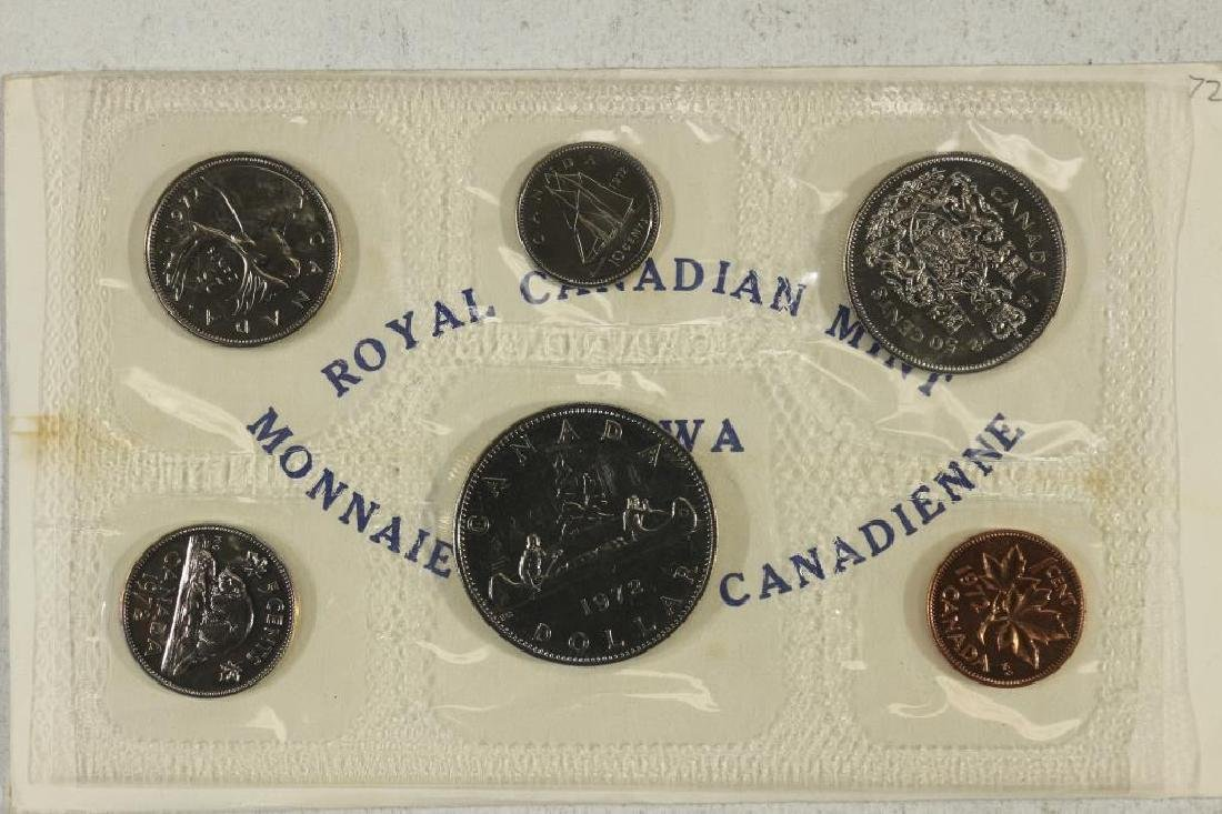 1972 CANADA (PF LIKE) SET WITH ENVELOPE