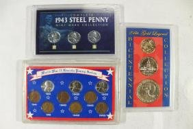 3 US COIN SETS SEE DESCRIPTION
