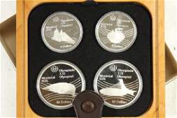 1976 CANADA OLYMPIC SILVER PROOF COINS
