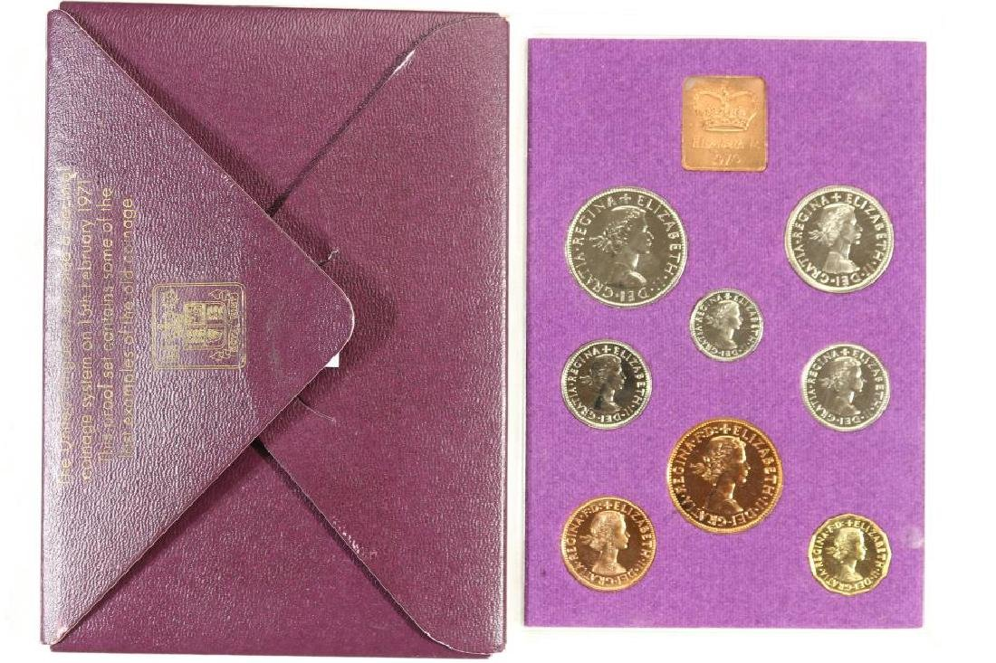 1970 GREAT BRITAIN AND NORTHERN IRELAND PROOF SET - 2