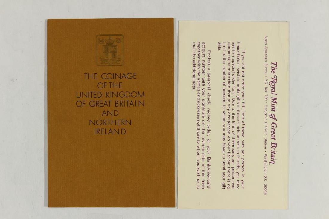 1970 GREAT BRITAIN AND NORTHERN IRELAND PROOF SET - 3