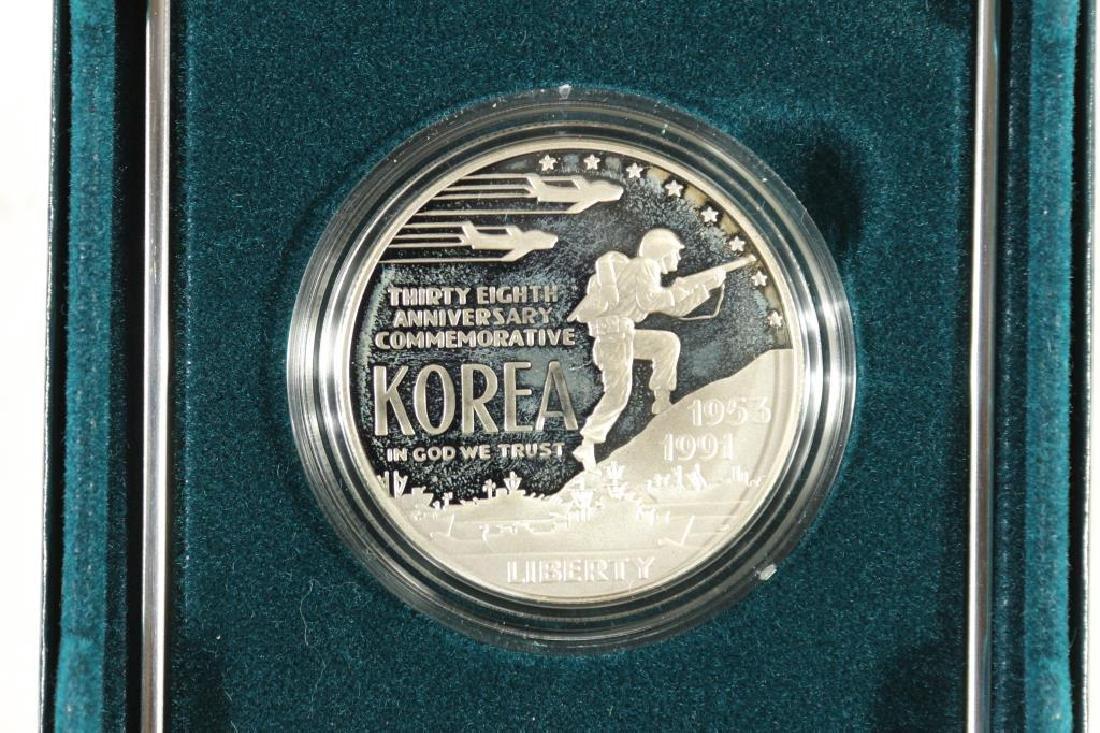 1991-P KOREAN WAR PROOF SILVER DOLLAR