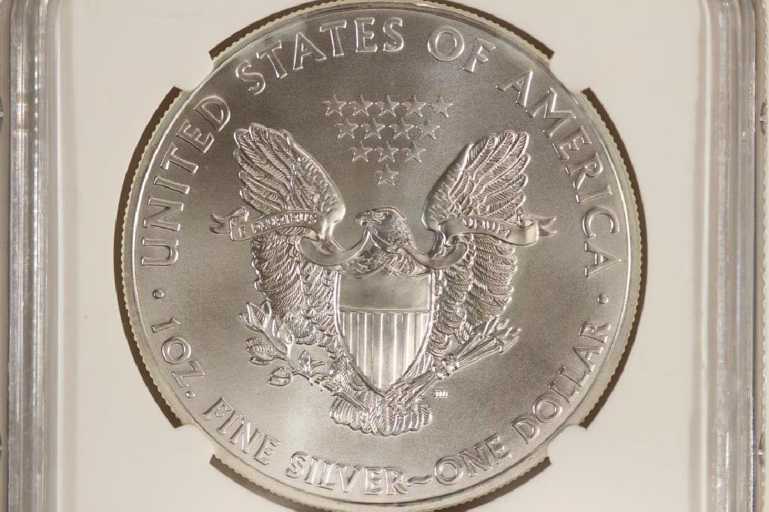 2011 AMERICAN SILVER EAGLE NGC MS69 EARLY RELEASES - 2