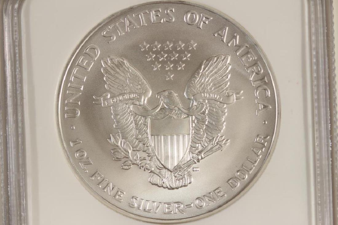 2007 AMERICAN SILVER EAGLE NGC MS69 - 2