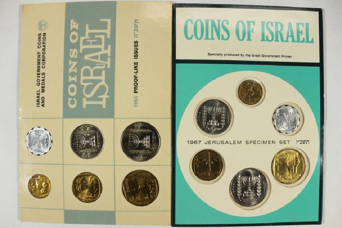 ISRAEL 1965 (PF LIKE) & 1967 JERUSALEM SETS