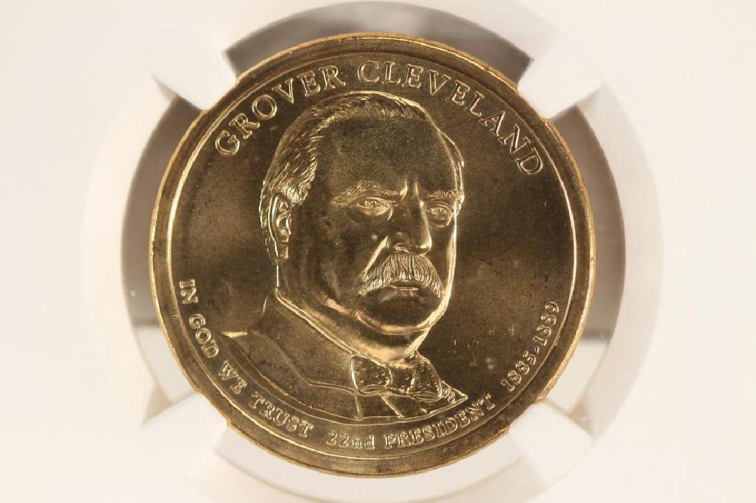 2012-D GROVER CLEVELAND DOLLAR NGC MS67