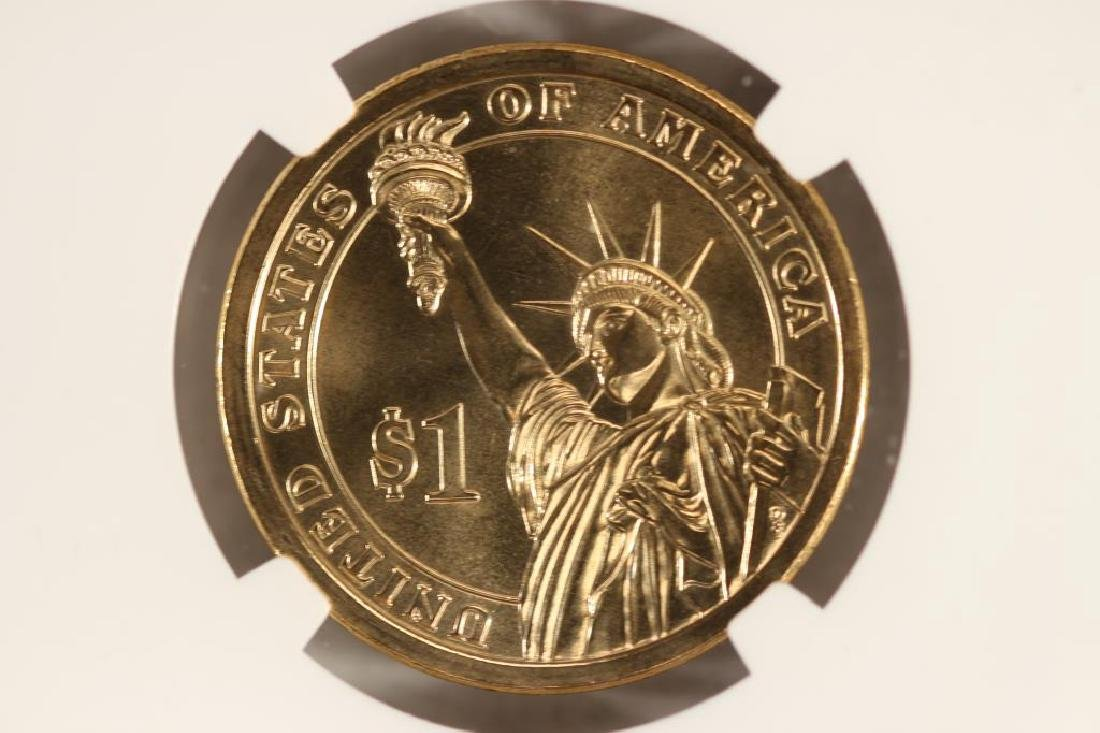 2012-D GROVER CLEVELAND DOLLAR NGC MS67 - 2