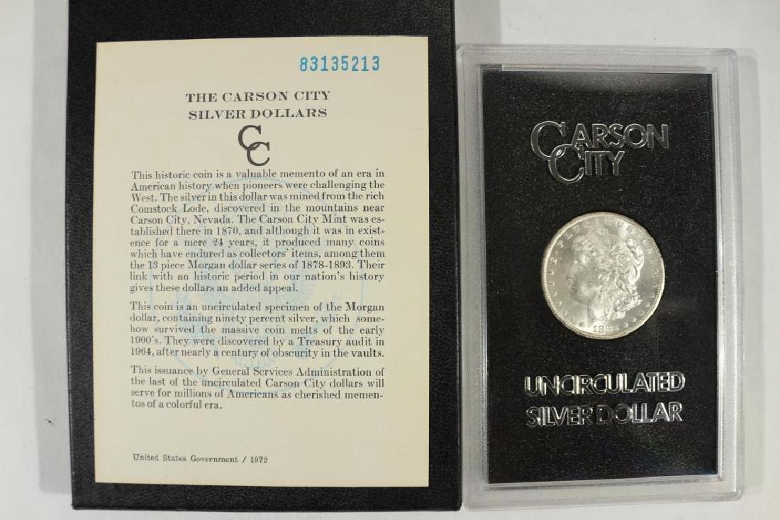 1883 -CC GSA MORGAN SILVER DOLLAR (UNC) - 3