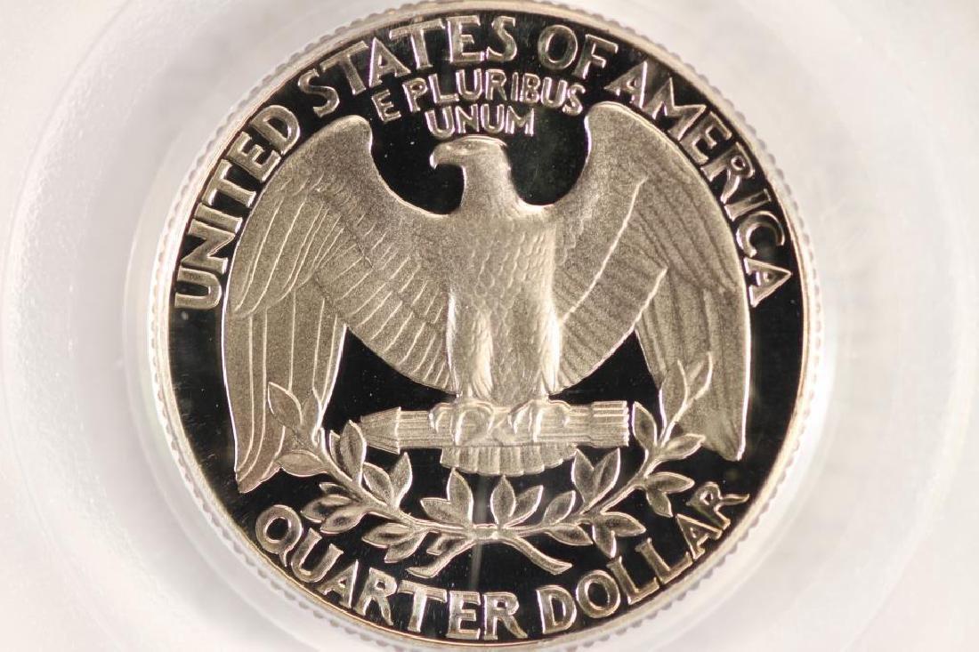 1987-S WASHINGTON QUARTER PCGS PR69 DCAM - 2
