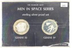 2-APPROX. 21 GRAM STERLING SILVER PF ROUNDS