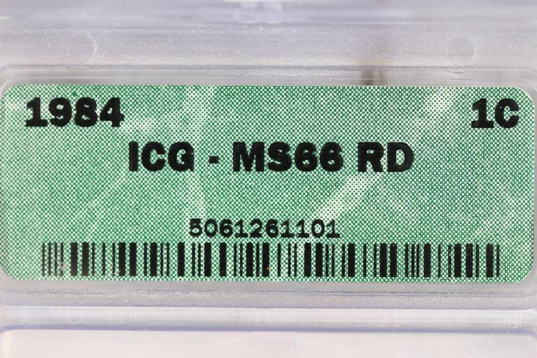 1984 LINCOLN CENT ICG MS66RD - 3
