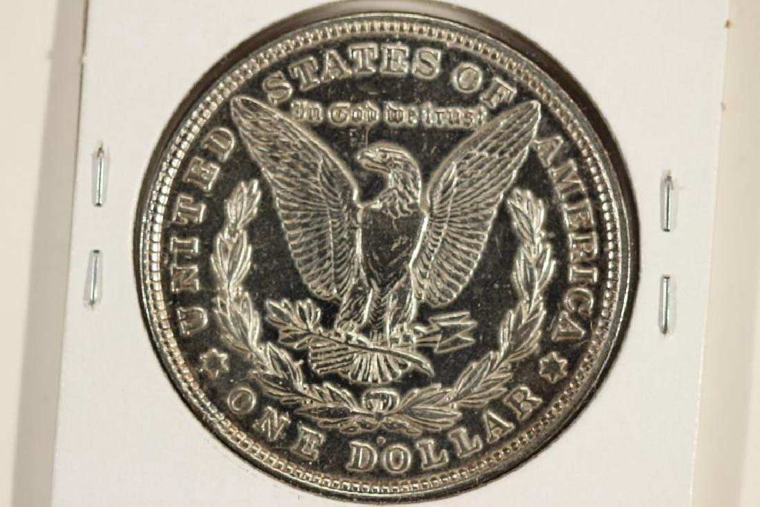 1921-D MORGAN SILVER DOLLAR POLISHED - 2