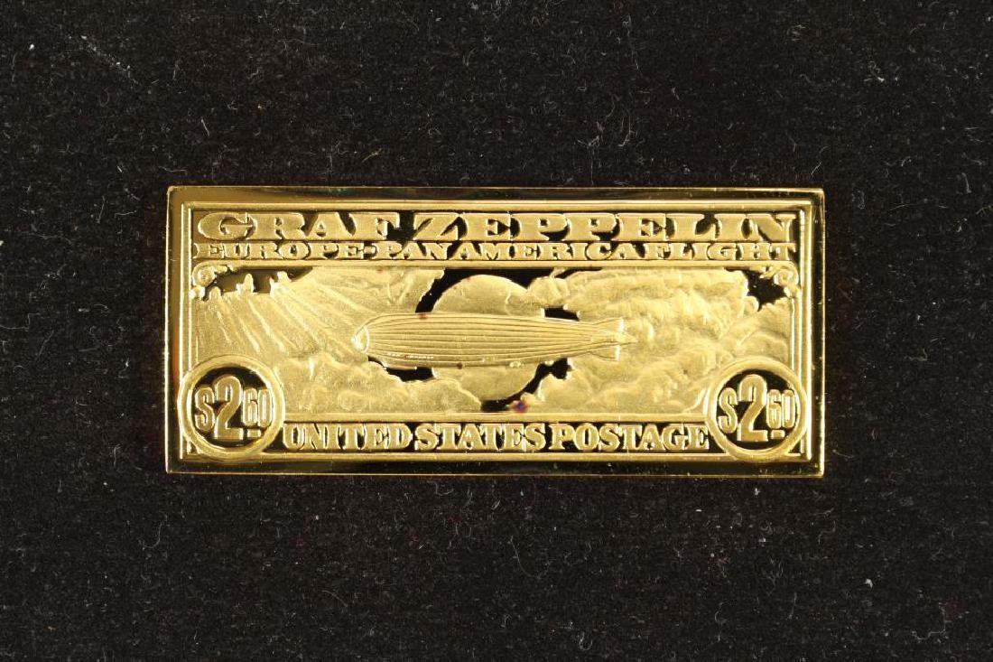 17.3 GRAM 24KT GOLD PLATED STERLING SILVER INGOT