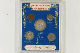 SYMBOLS OF AMERICAN FREEDOM SET CONTAINS: