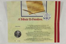 1993-W BILL OF RIGHTS UNC SILVER HALF DOLLAR