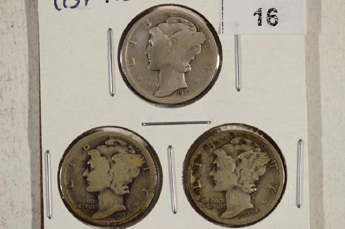 1917-P/D/S MERCURY DIMES
