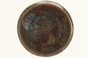 1876 INDIAN HEAD CENT (SEMI-KEY)