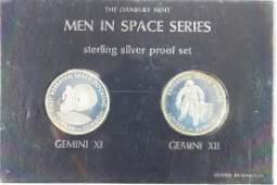 MEN IS SPACE SERIES STERLING SILVER PROOF SET