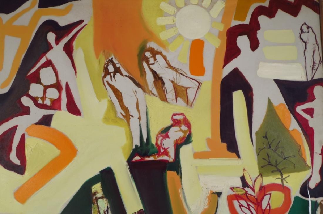 Arnold Weber, Am., 1931-2010. Figures Under Sun