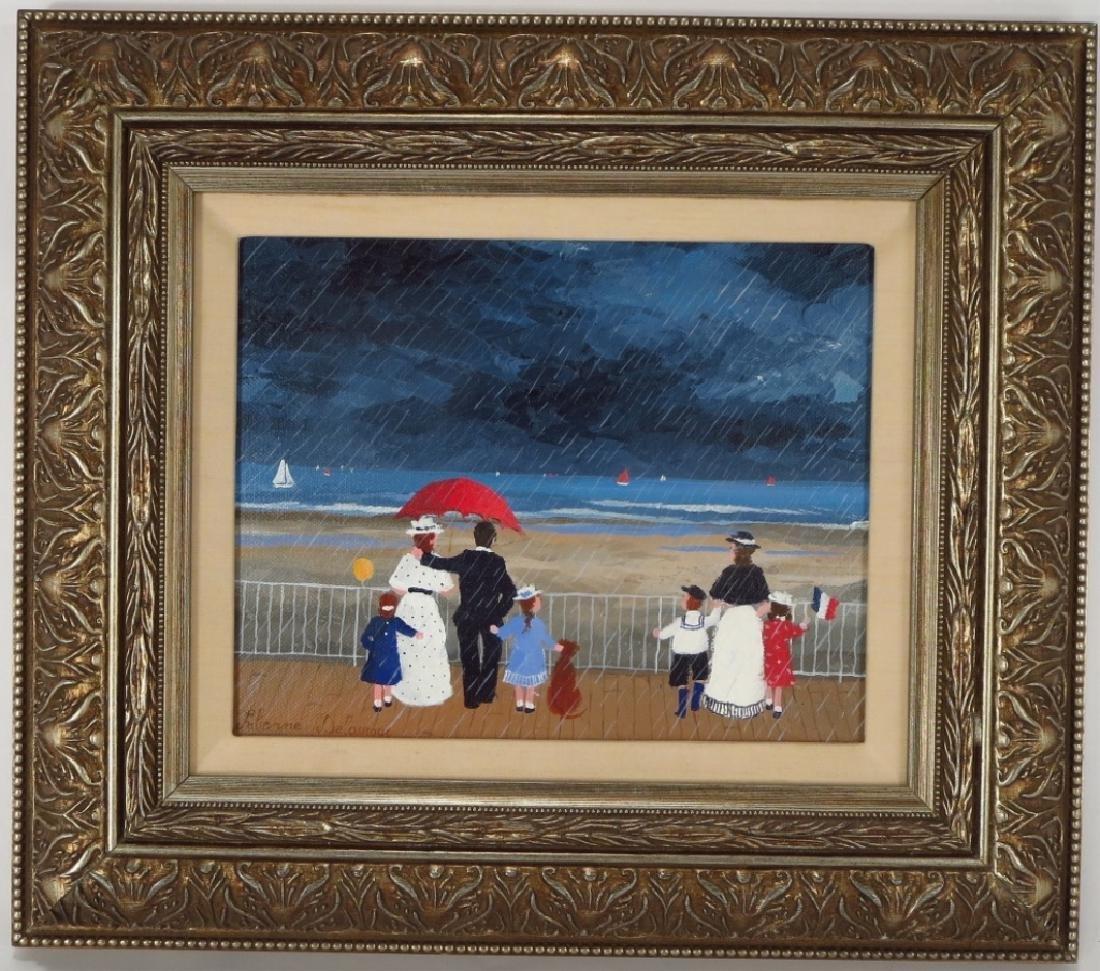 Fabienne DeLacroix, 20th C, Pluie a Sante Adresse - 2