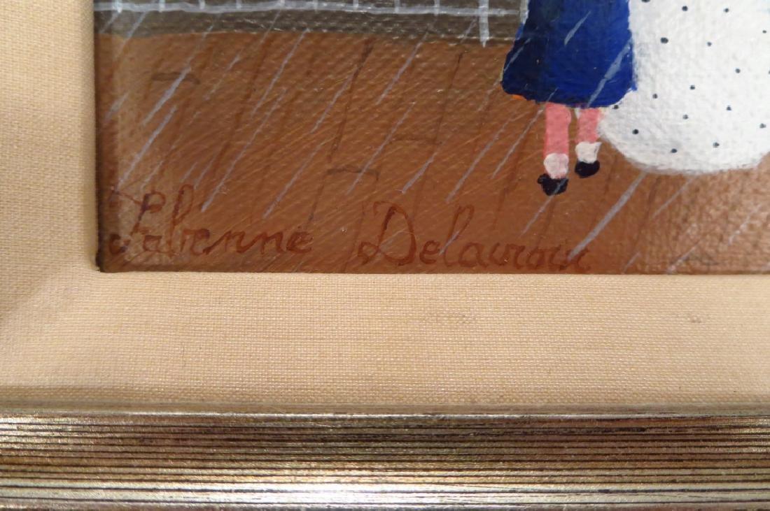 Fabienne DeLacroix, 20th C, Pluie a Sante Adresse - 4