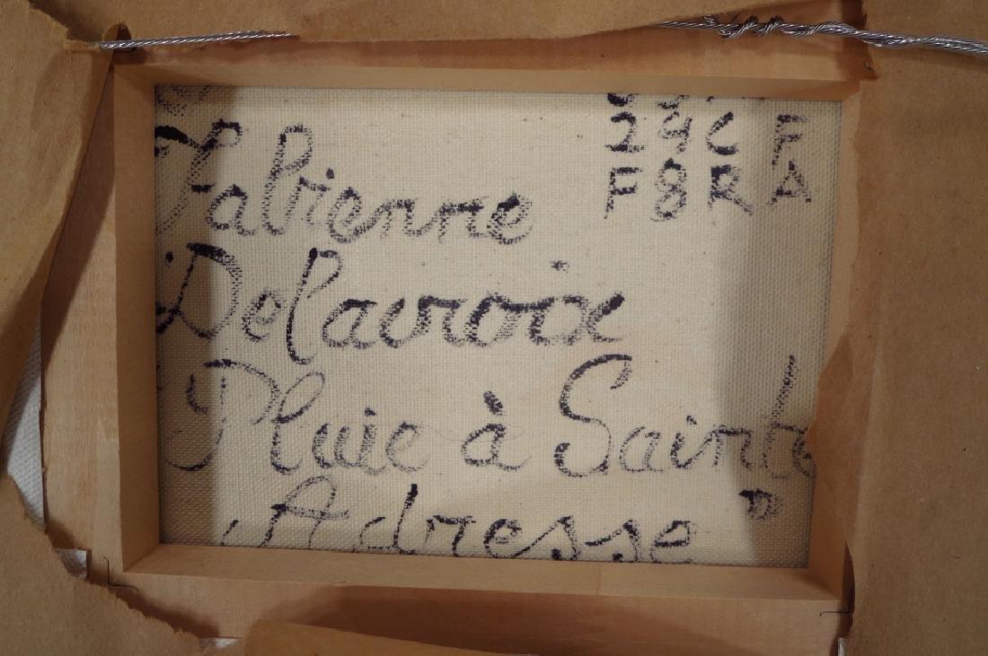 Fabienne DeLacroix, 20th C, Pluie a Sante Adresse - 5