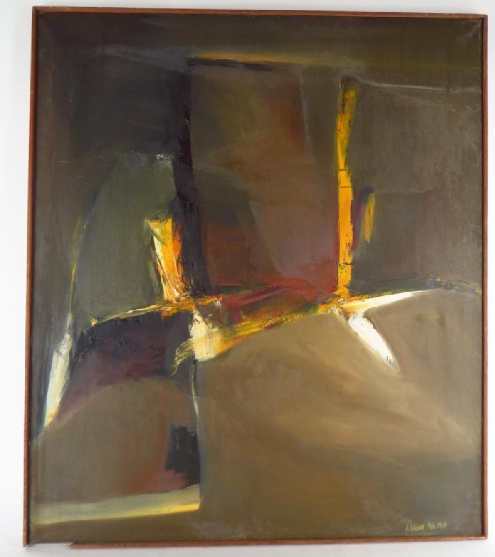 Arnold Weber, American, 1931-2010, Orange Vertical - 2