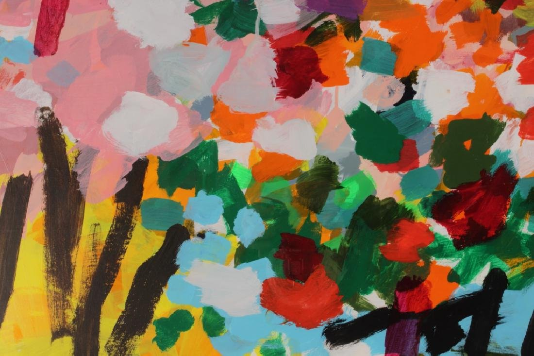 Bill Scott, Am., b.1956,Untitled (Abstract Floral) - 3