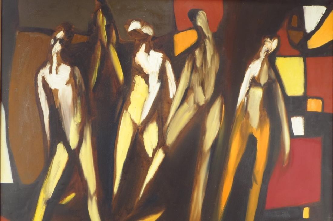 Arnold Weber, Am., 1931-2010, 5 Figures