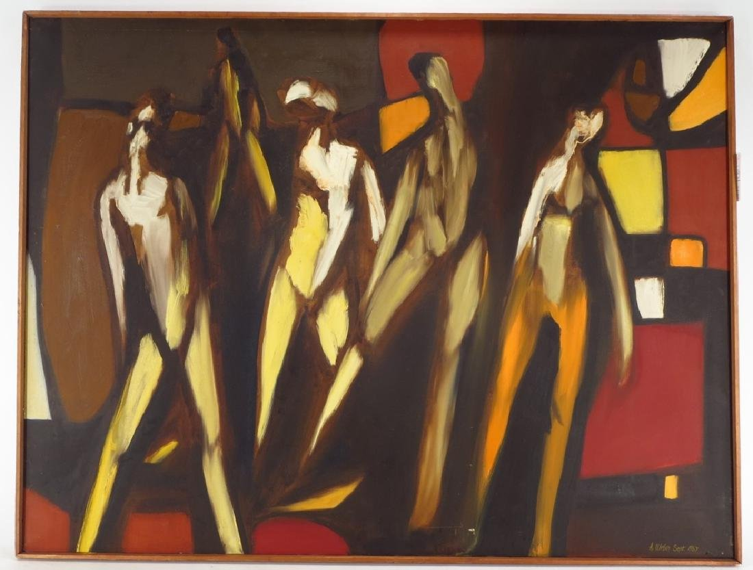Arnold Weber, Am., 1931-2010, 5 Figures - 2