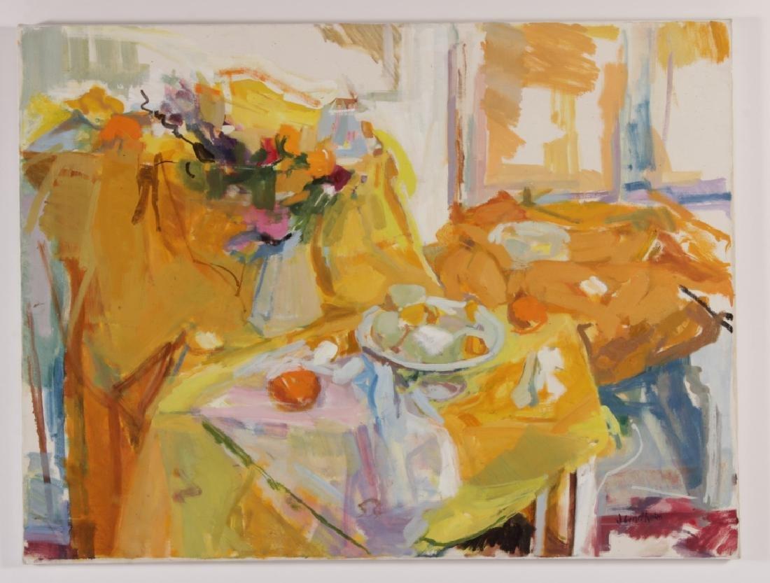 Joren Lindholm,,Am.,20th C., Still Life,o/c,signed - 2