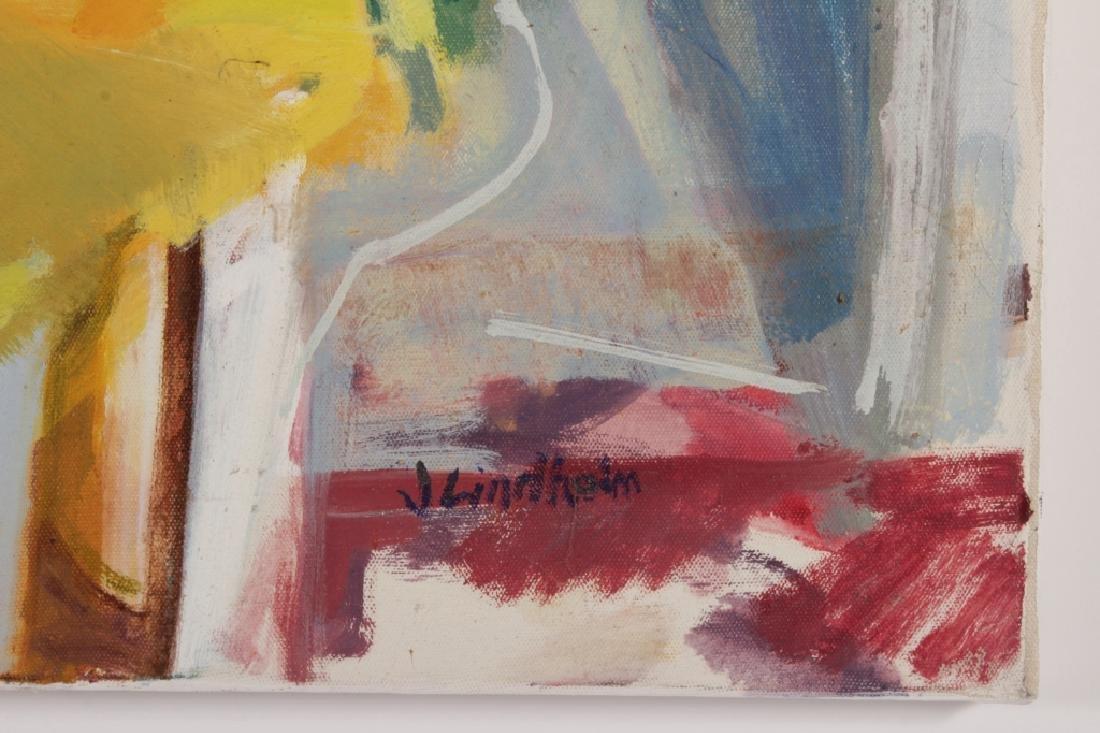 Joren Lindholm,,Am.,20th C., Still Life,o/c,signed - 4