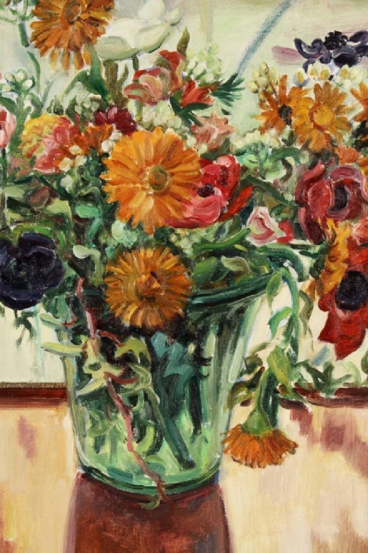 Josep Serra Llimona, Sp., b.1937, Floral Vase, O/C - 3