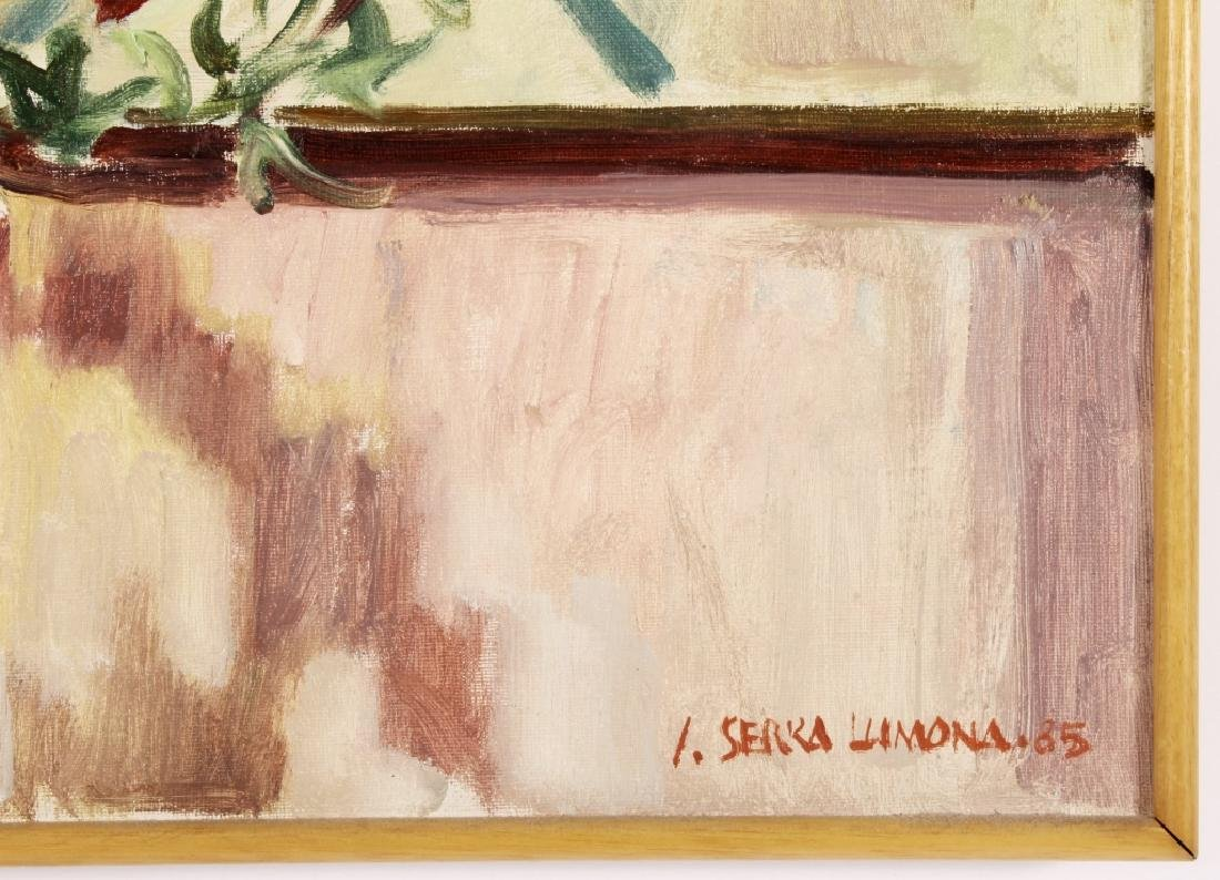 Josep Serra Llimona, Sp., b.1937, Floral Vase, O/C - 4